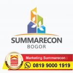 SUMMARECON BOGOR Investasi Dahsyat Menguntungkan Dijamin!